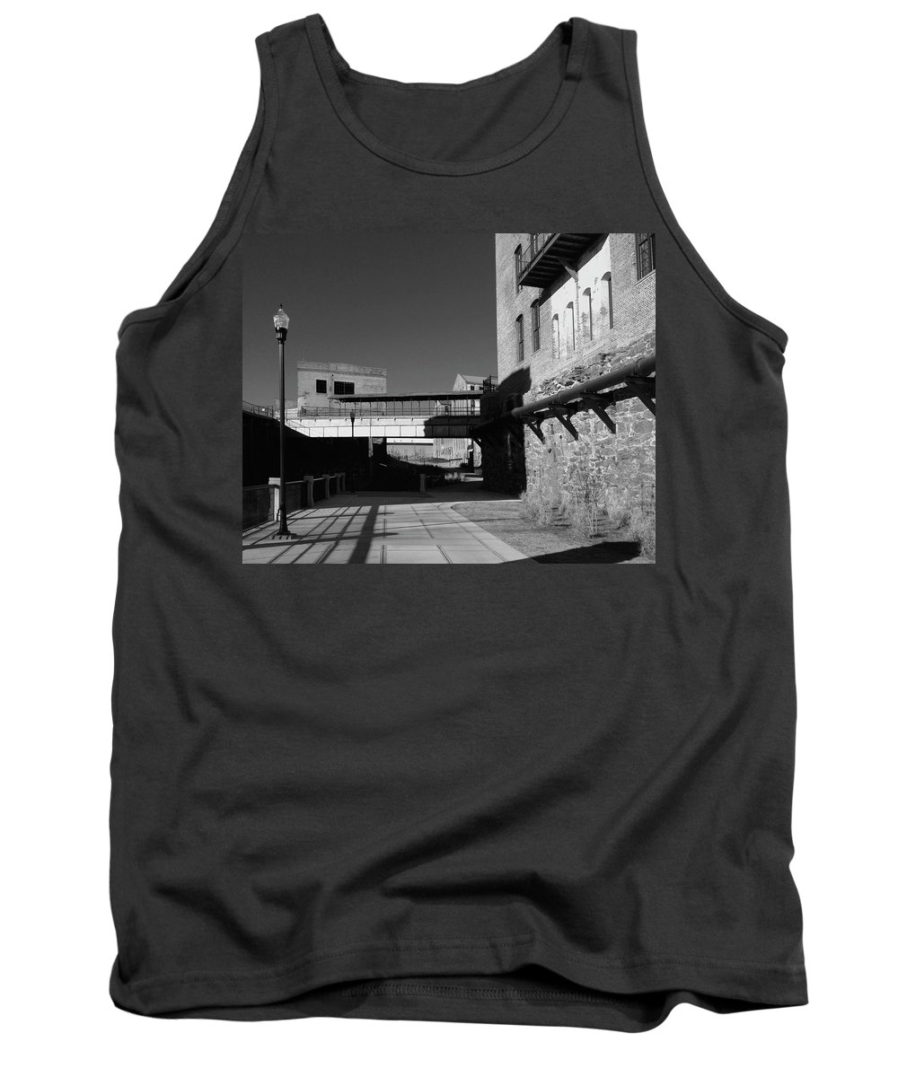 Architecture Tank Top featuring the photograph Silence On The Banks Of The Chattahoochee by Dick Goodman