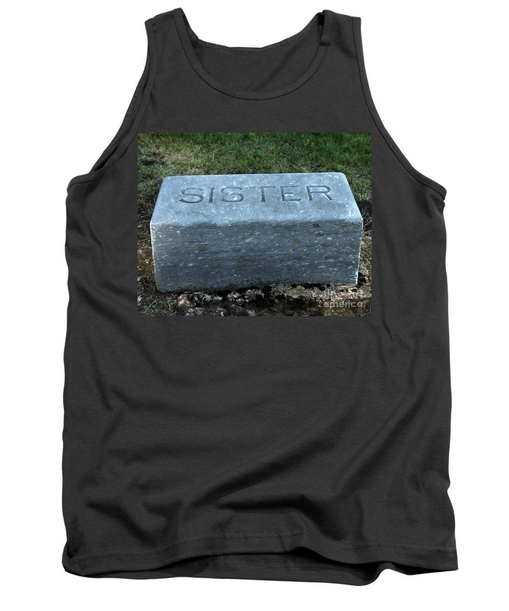 Sister Tank Top featuring the photograph Sister by Peter Piatt
