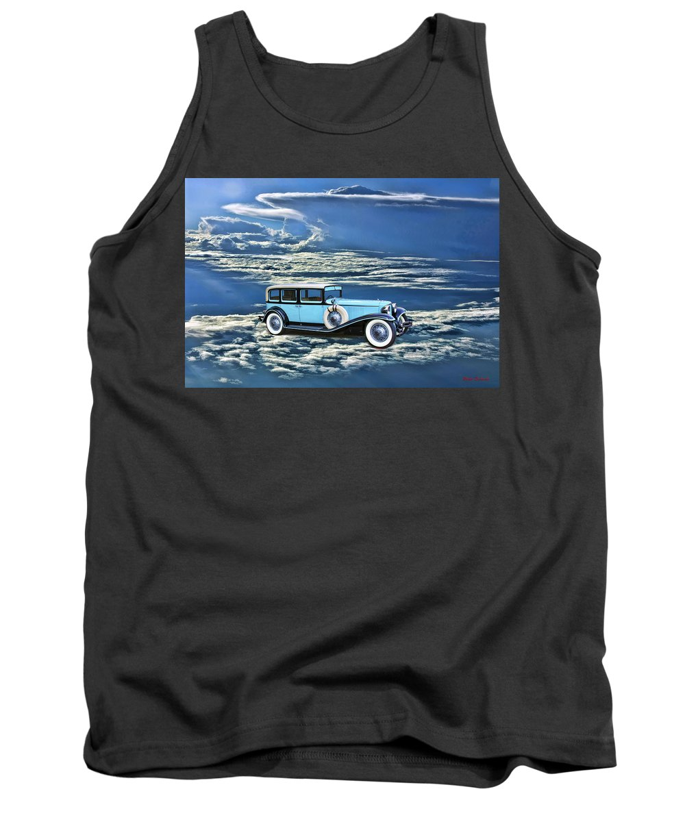 Tank Top featuring the photograph Sky Car by Blake Richards
