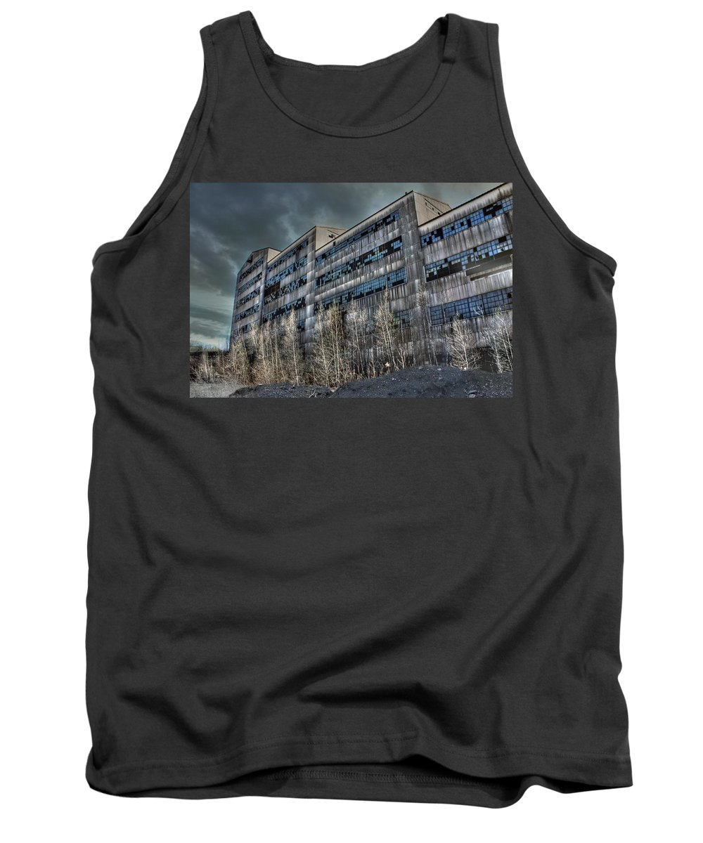 Coal Mining Tank Top featuring the photograph Sleeping Giant by Lori Deiter