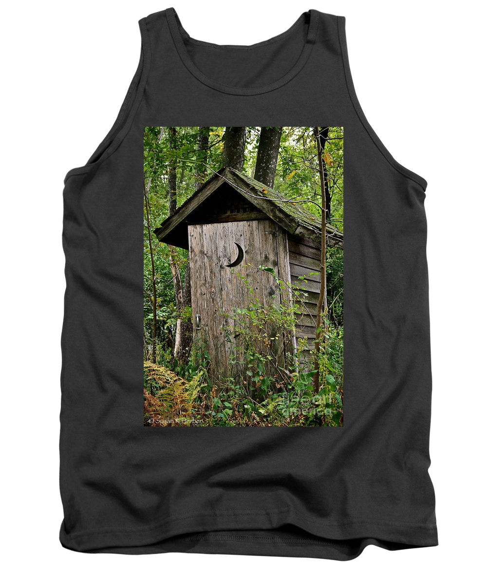 Outdoors Tank Top featuring the photograph Sliding Downhill by Susan Herber