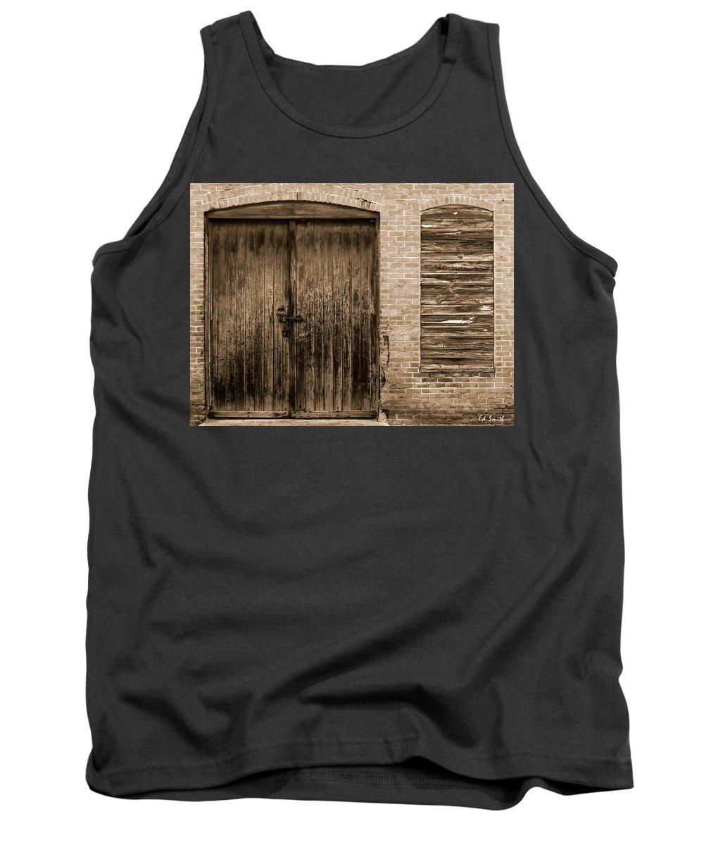 Small Business In America 2010 Tank Top featuring the photograph Small Business In America 2010 by Ed Smith
