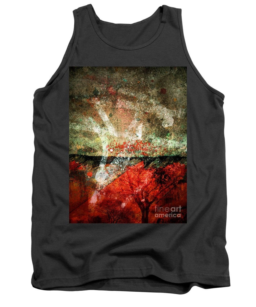 Concrete Tank Top featuring the photograph Small Truths by Tara Turner