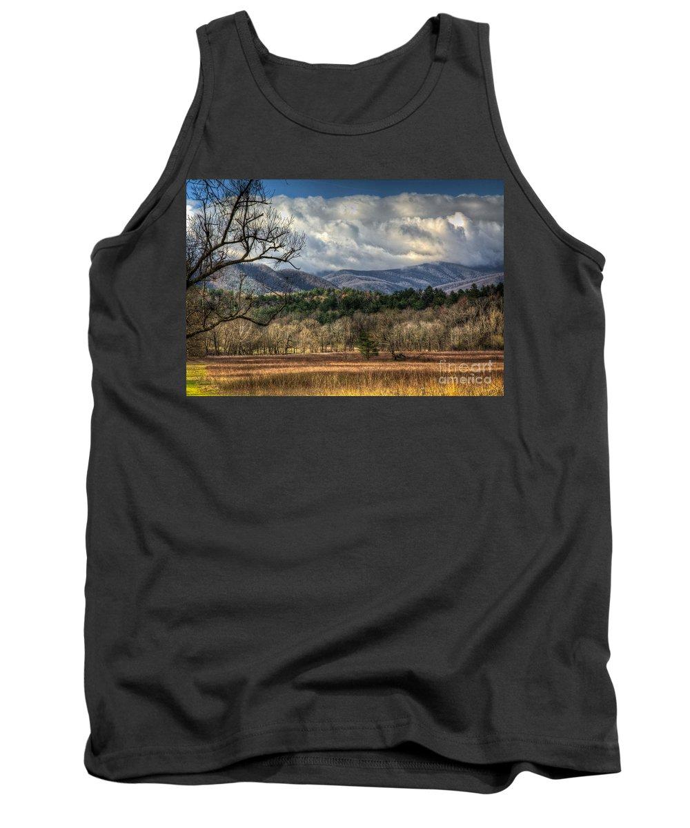 Cades Tank Top featuring the photograph Smoky Mountain Splendor by Douglas Stucky