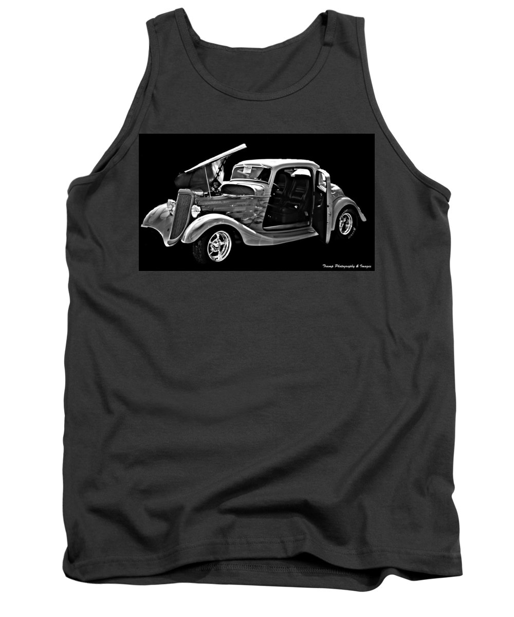 Classic Cars Tank Top featuring the photograph Smooth Ride by Wesley Nesbitt