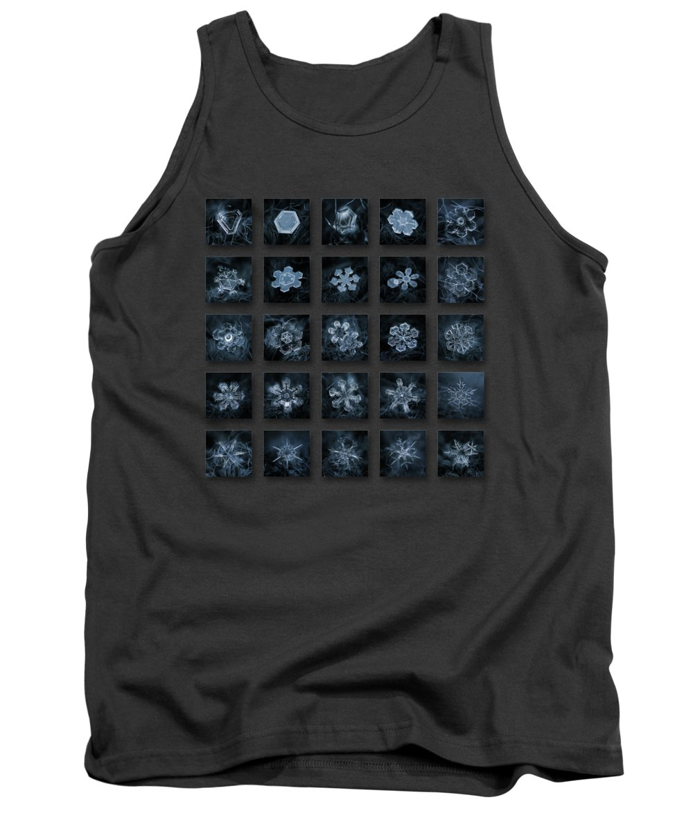 Pattern Photographs Tank Tops