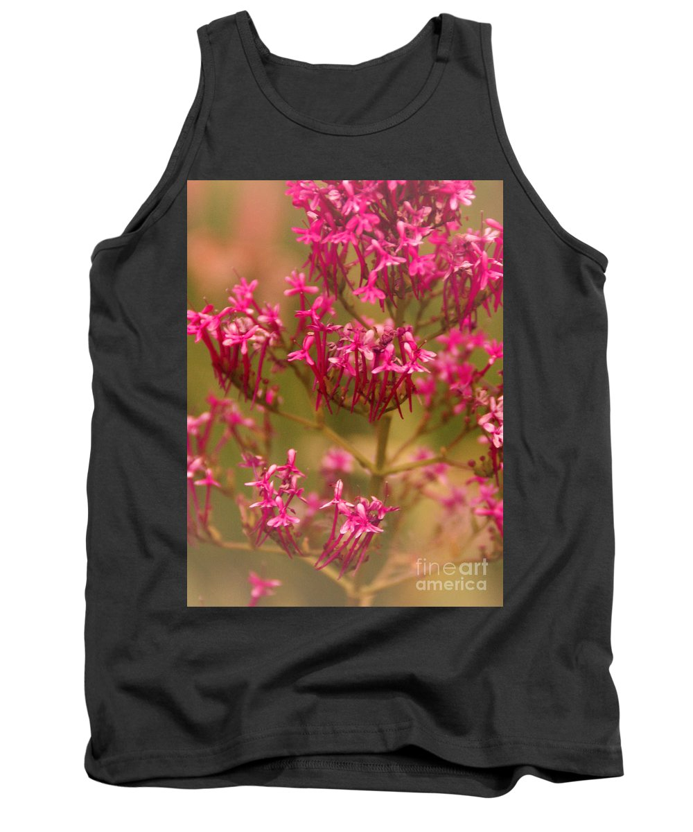 Flower Tank Top featuring the photograph Soft Pirouette by Linda Shafer