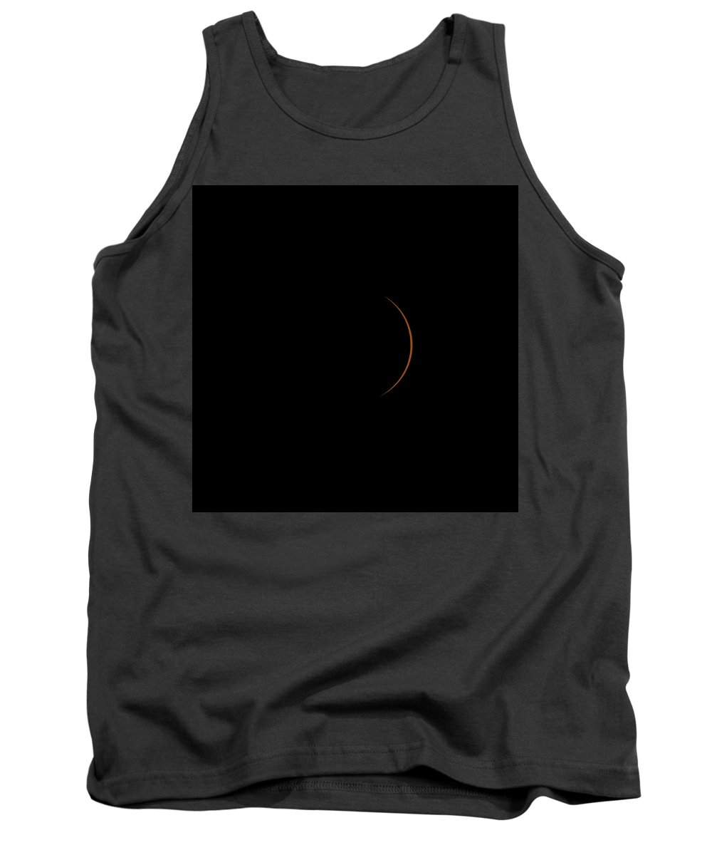 Solar Tank Top featuring the photograph Solar Eclipse 143830 by William Bitman