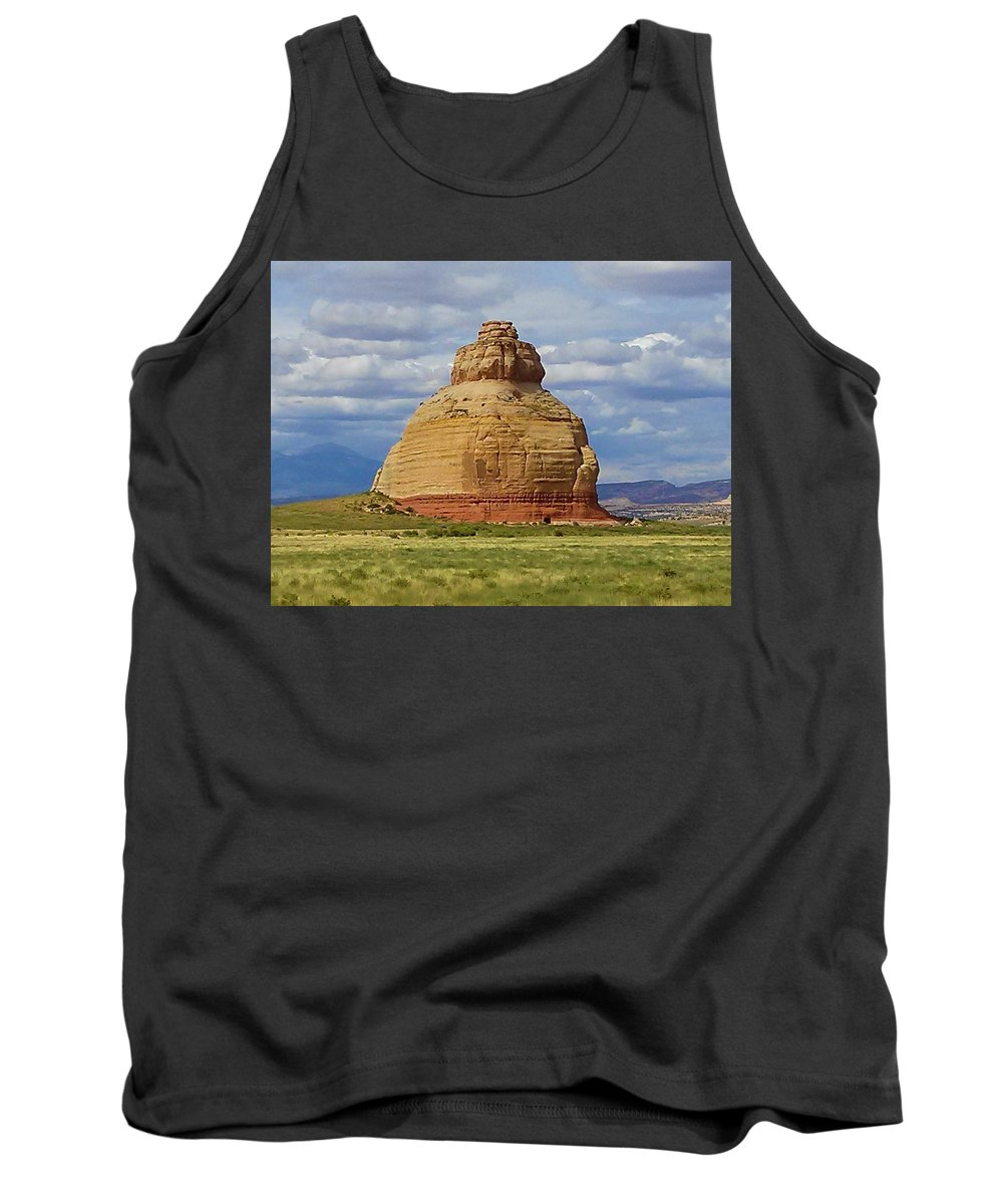 Landscape Tank Top featuring the photograph Solid by Janet Willis
