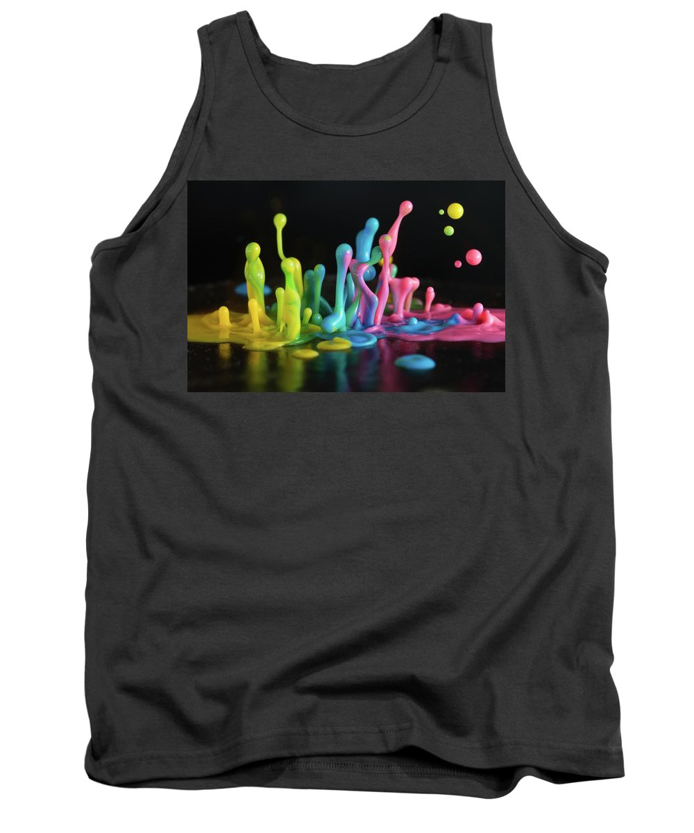 Sound Tank Top featuring the photograph Sound Sculpture by William Freebilly photography