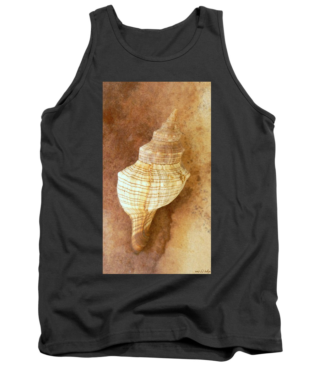 Still Life Tank Top featuring the photograph Sounds Of The Sea by Holly Kempe