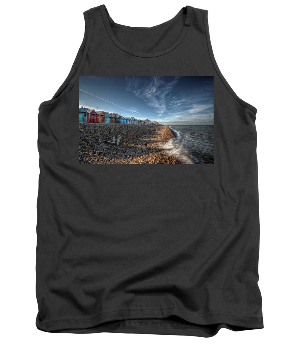 Southend Tank Top featuring the digital art Southend On Sea by Nigel Bangert