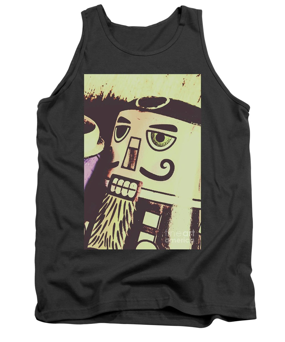 Vintage Tank Top featuring the photograph Souvenirs From Ussr by Jorgo Photography - Wall Art Gallery