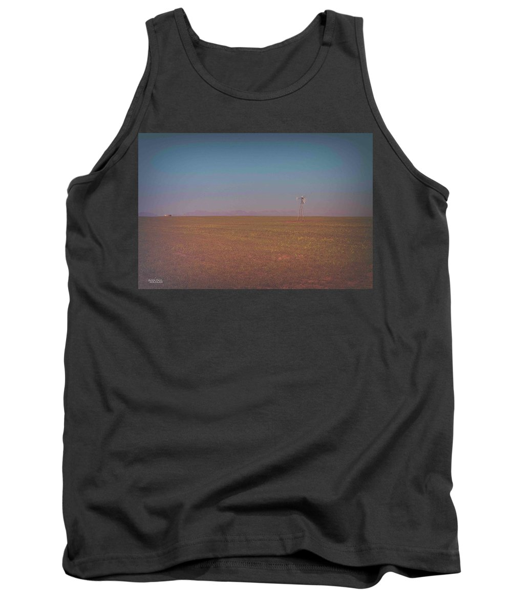 Landscape Tank Top featuring the photograph Space by Jason Hermann