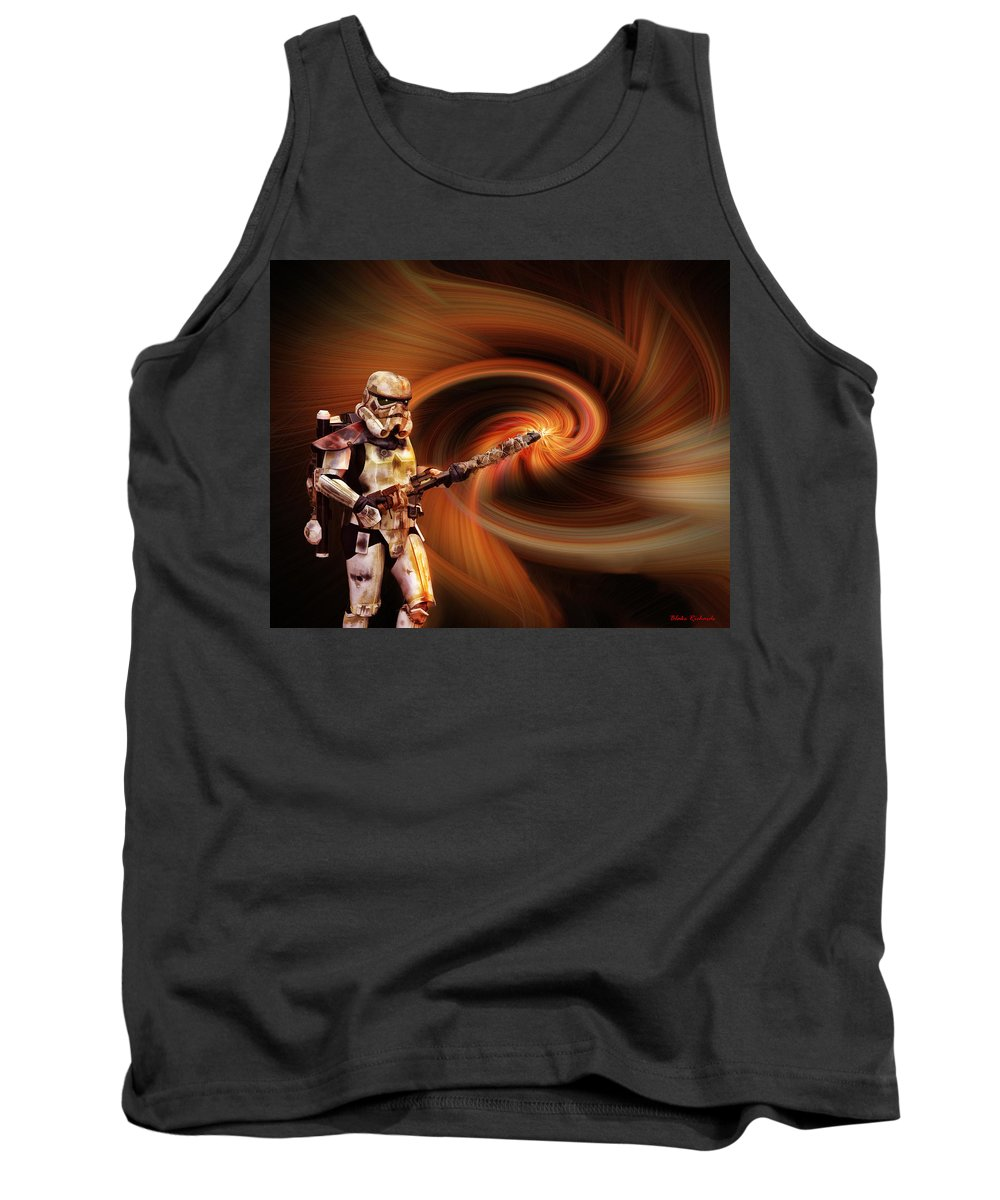 Tank Top featuring the photograph Space Soldier by Blake Richards