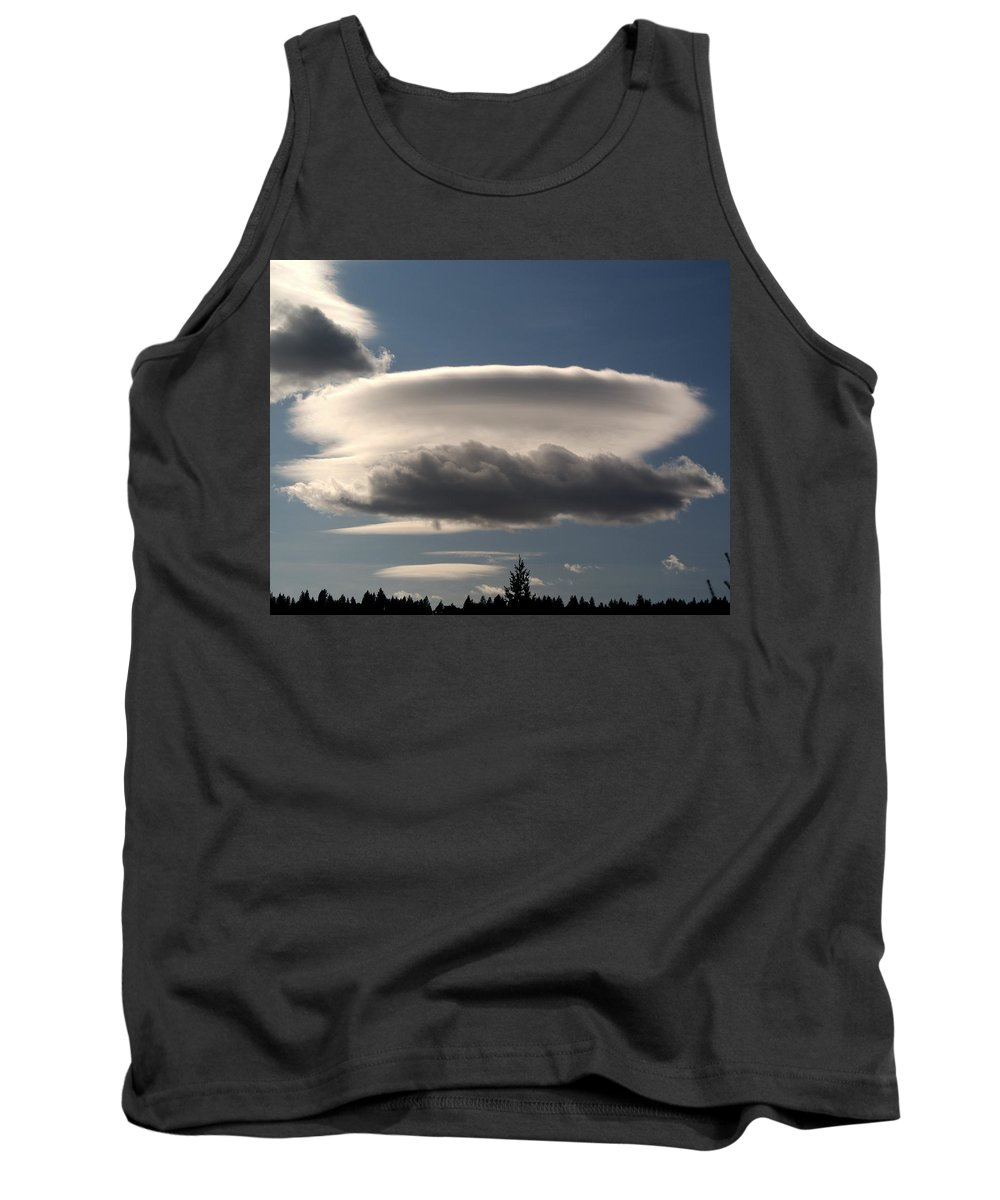 Nature Tank Top featuring the photograph Spacecloud by Ben Upham III