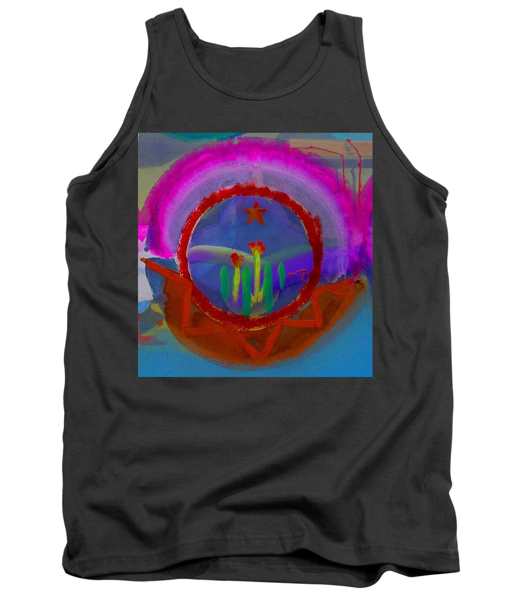 Love Tank Top featuring the painting Spanish America by Charles Stuart
