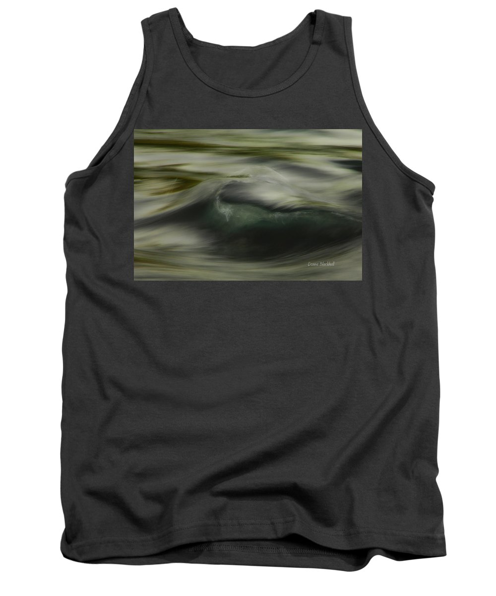 Water Tank Top featuring the photograph Speaking Sofly by Donna Blackhall