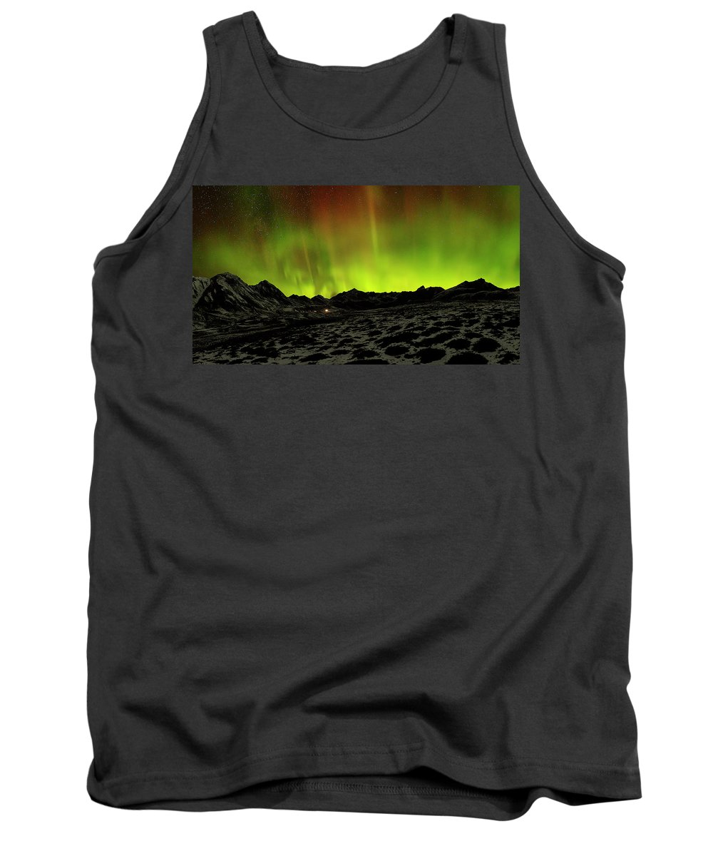 Alaska Tank Top featuring the photograph Spellbound by Ed Boudreau