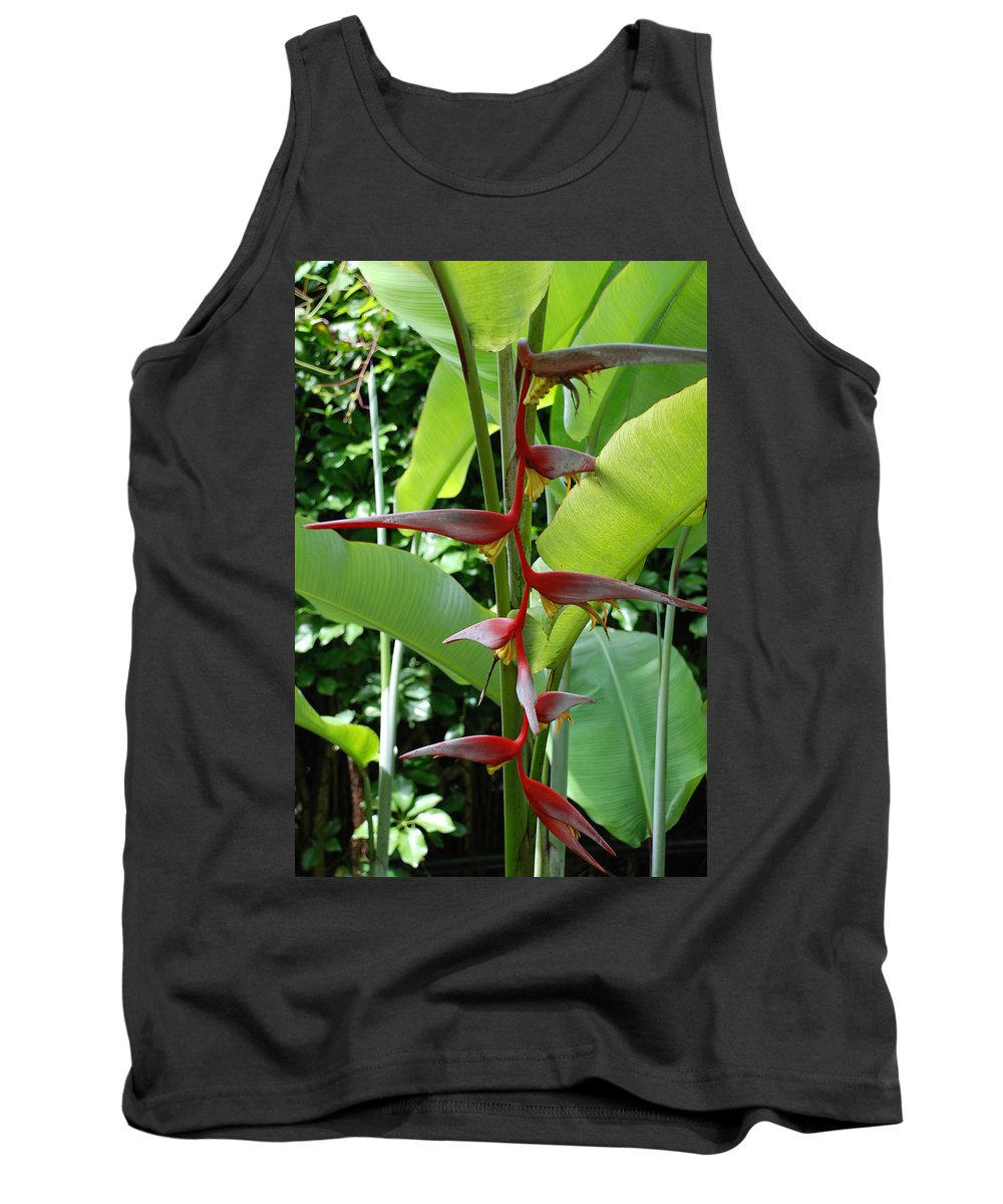 Macro Tank Top featuring the photograph Spike Tree by Rob Hans