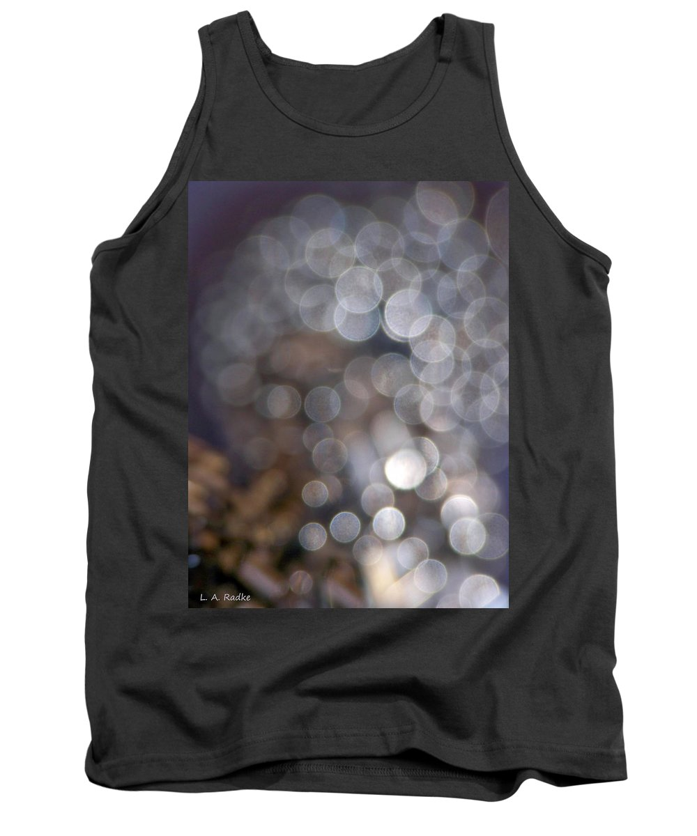 Abstract Tank Top featuring the photograph Spirits - The Lost by Lauren Radke