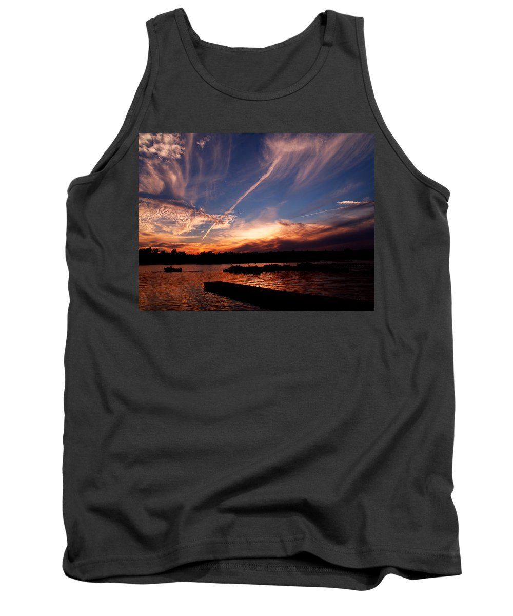 Sky Tank Top featuring the photograph Spirits In The Sky by Gaby Swanson