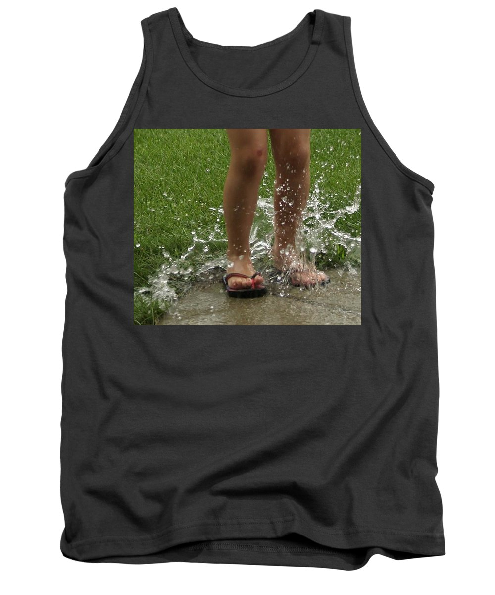 Splash Tank Top featuring the photograph Splash by Denise Irving