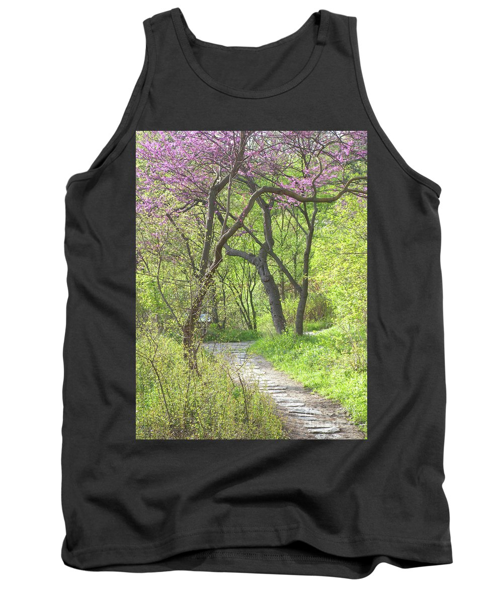 Spring Tank Top featuring the photograph Spring Canopy by Ann Horn