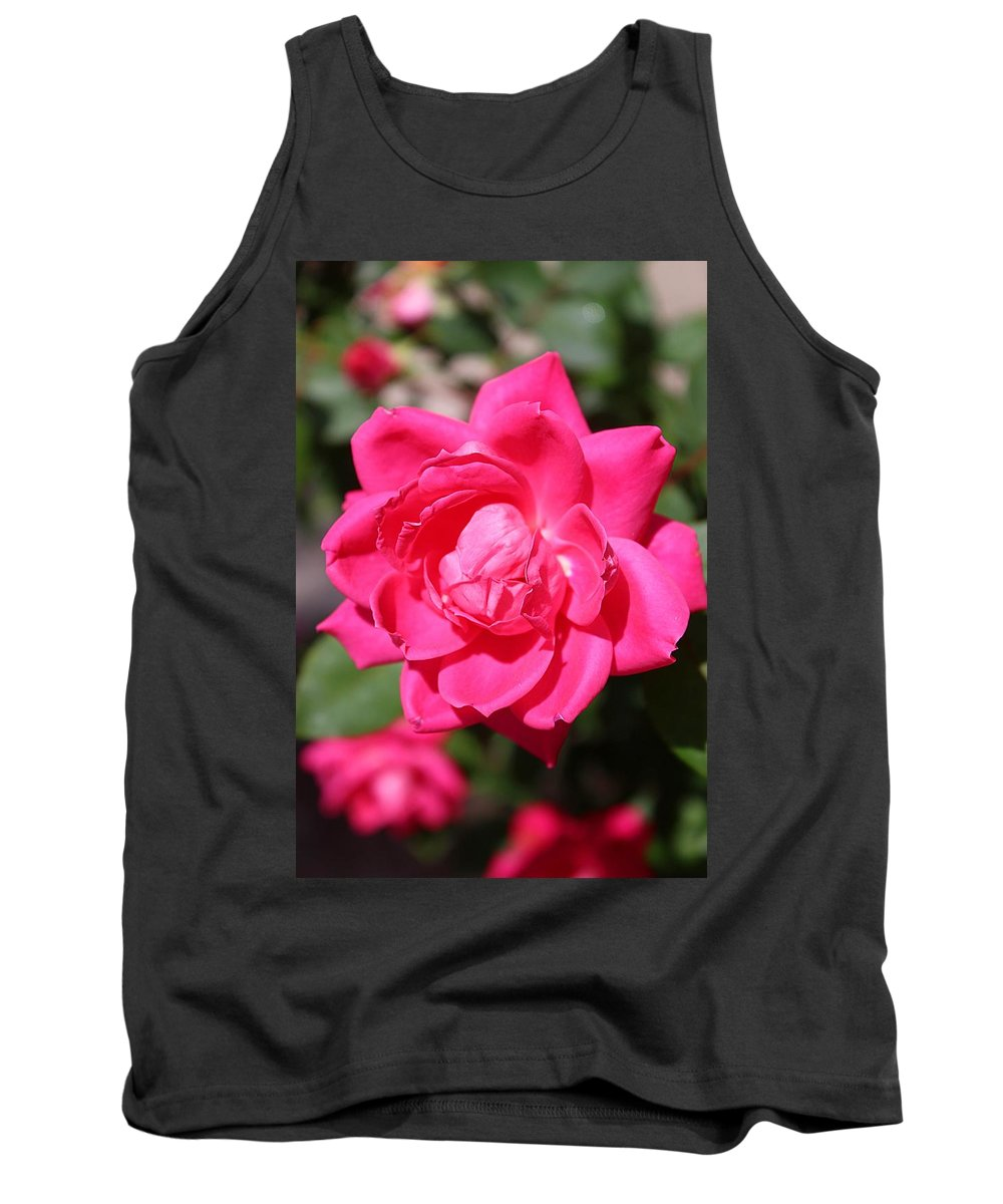 Rose Tank Top featuring the photograph Spring Rose by Susan Lotterer