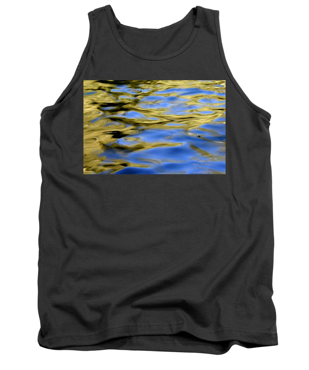 Water Tank Top featuring the photograph Spun Butter by Donna Blackhall