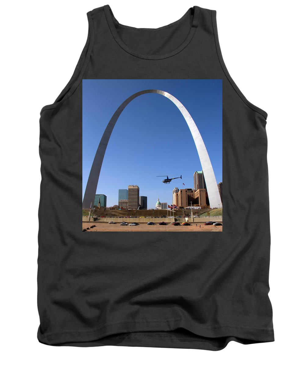 St. Louis Tank Top featuring the photograph St. Louis by Debby Richards
