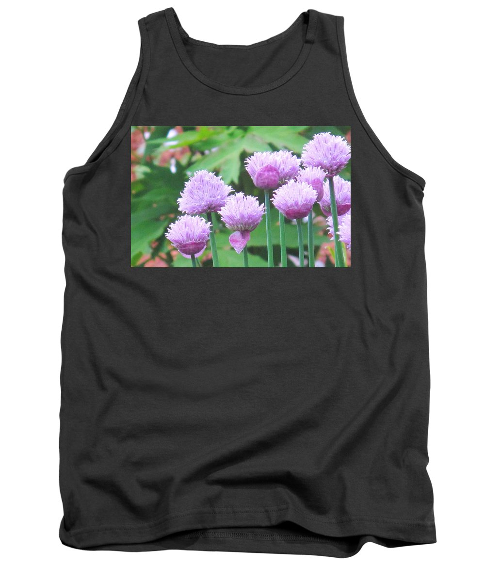 Flower Tank Top featuring the photograph Stand Tall by Ian MacDonald