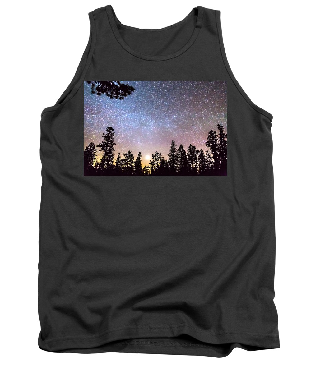 Sky Tank Top featuring the photograph Star Light Star Bright by James BO Insogna
