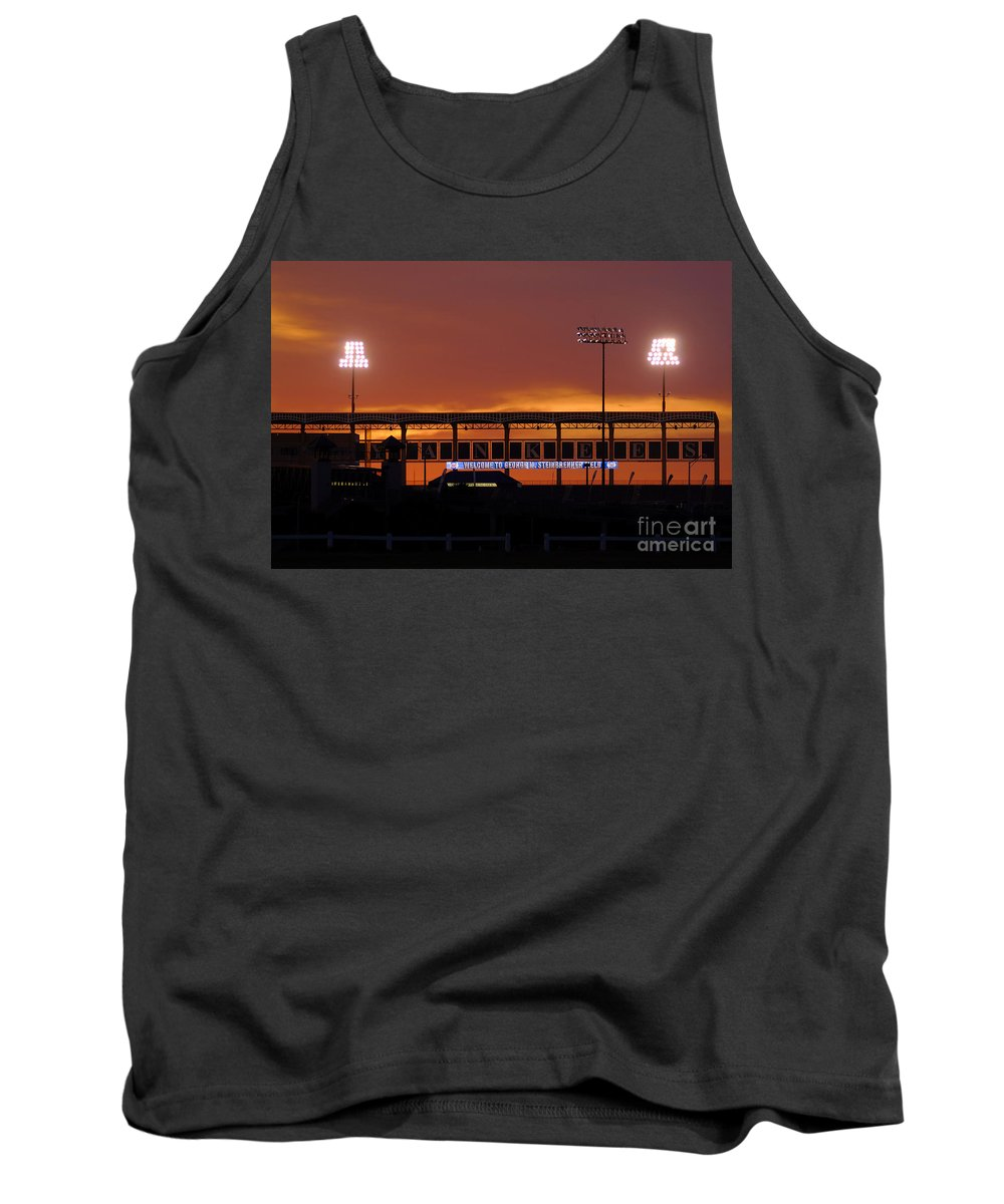 Steinbrenner Field Tank Top featuring the photograph Steinbrenner Field by David Lee Thompson