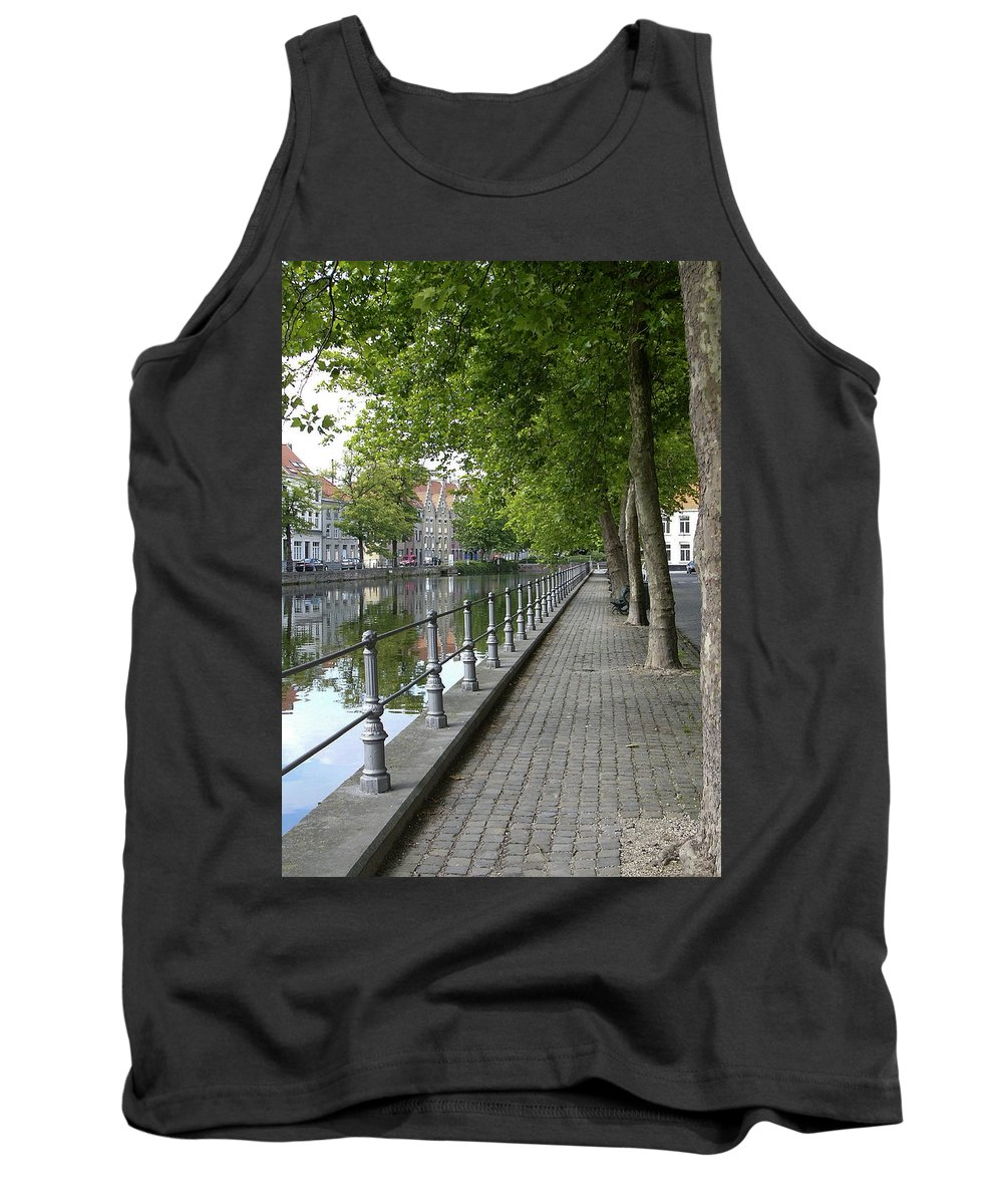 Photograph Tank Top featuring the photograph Step Back In Time by Rhonda McDougall