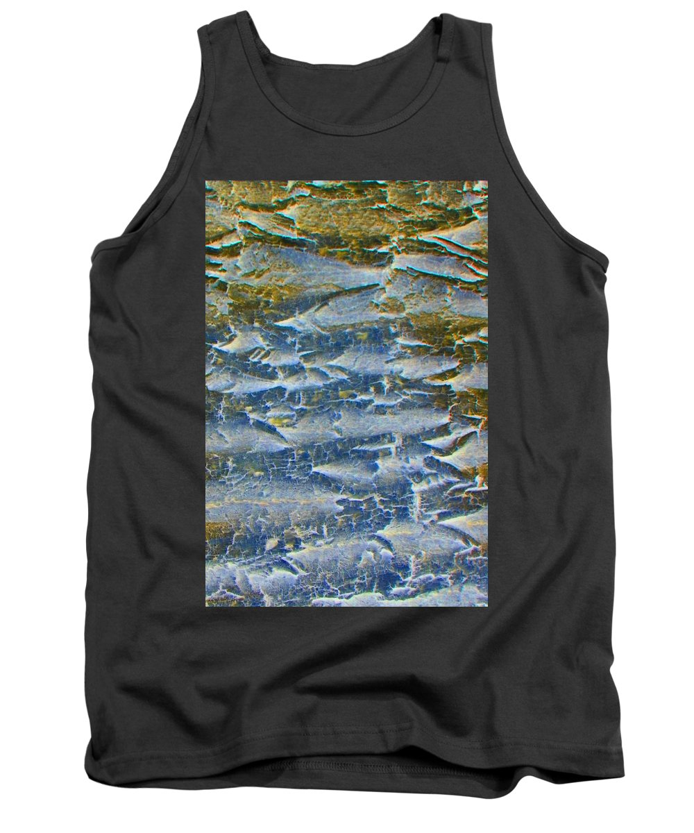 Abstract Tank Top featuring the photograph Stepping Stones by Lenore Senior