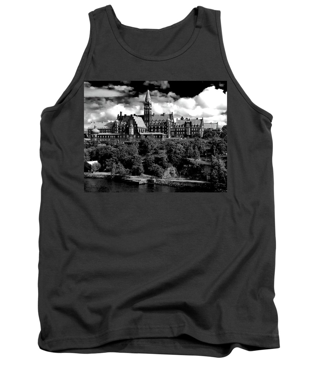 Ian Watts Tank Top featuring the photograph Stockholm Architecture by Ian Watts