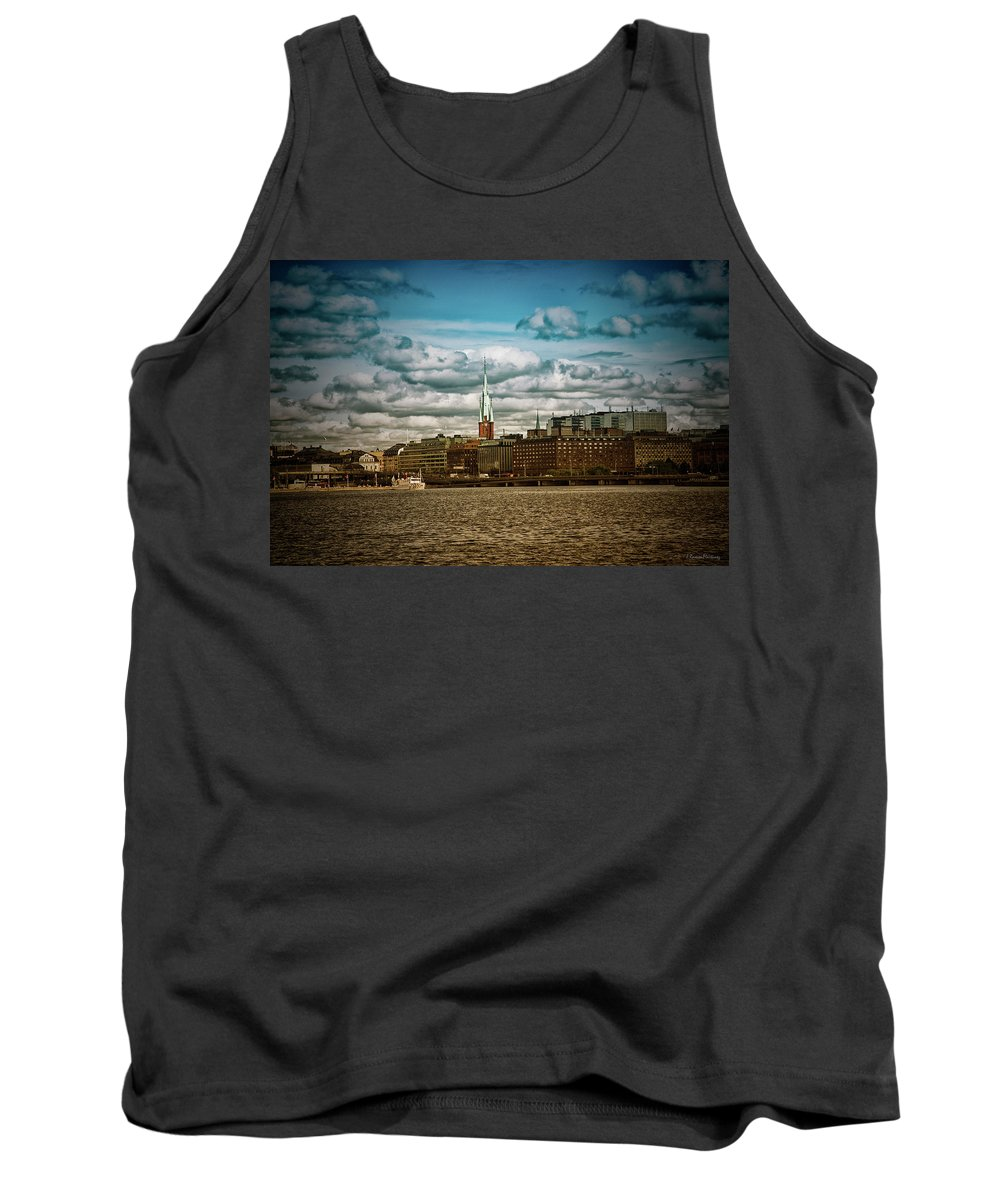 Stockholm Tank Top featuring the photograph Stockholm Ix by Ramon Martinez
