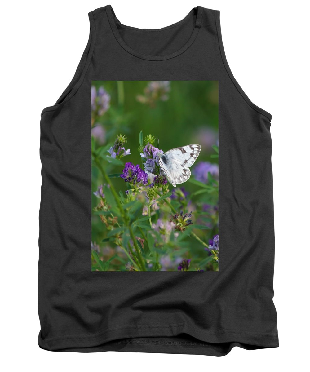 Nature Tank Top featuring the photograph Stop And Smell The Flowers by Crystal Massop