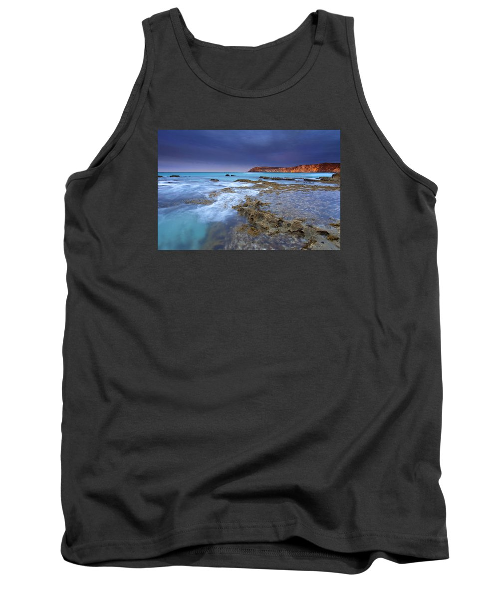 Dawn Tank Top featuring the photograph Storm Light by Mike Dawson