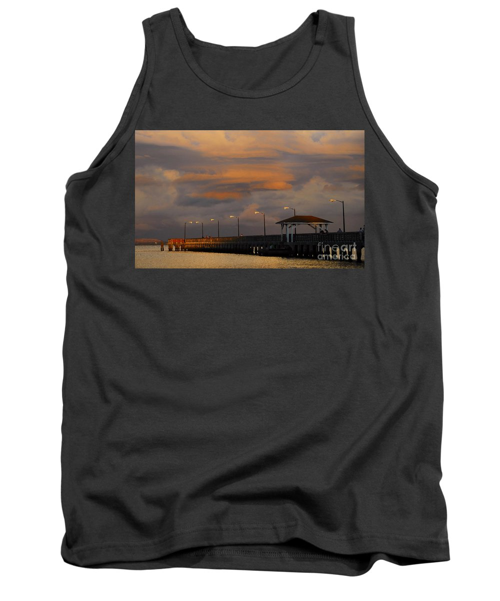 Storm Tank Top featuring the photograph Storm Over Ballast Point by David Lee Thompson