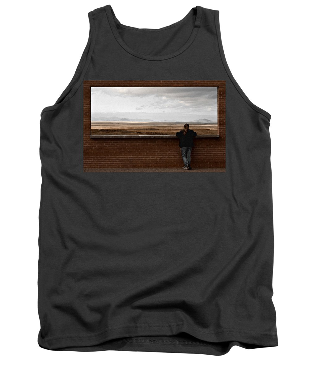 Storm Tank Top featuring the photograph Storm View by Scott Sawyer