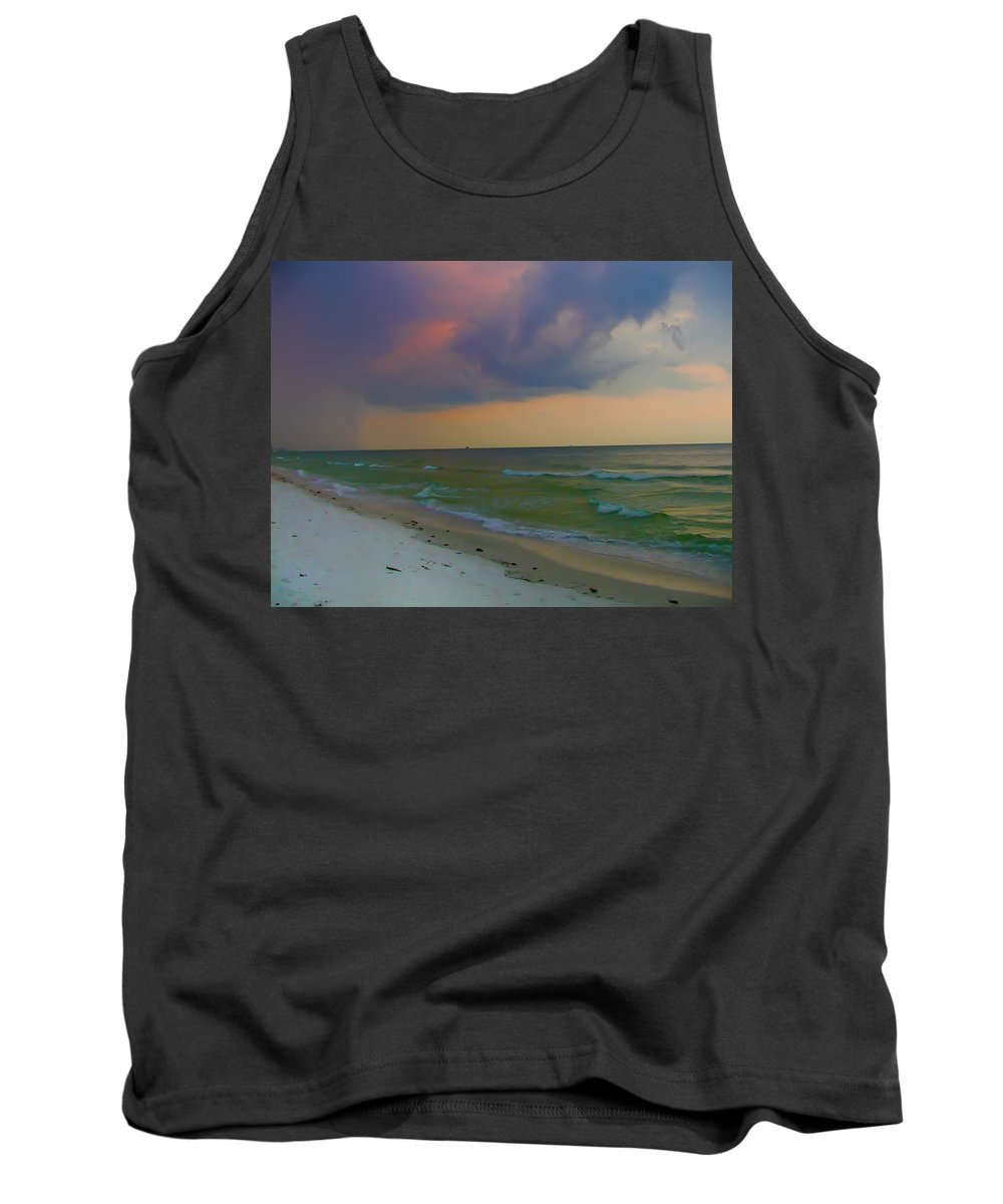 Storm Tank Top featuring the photograph Storm Warning by Bill Cannon