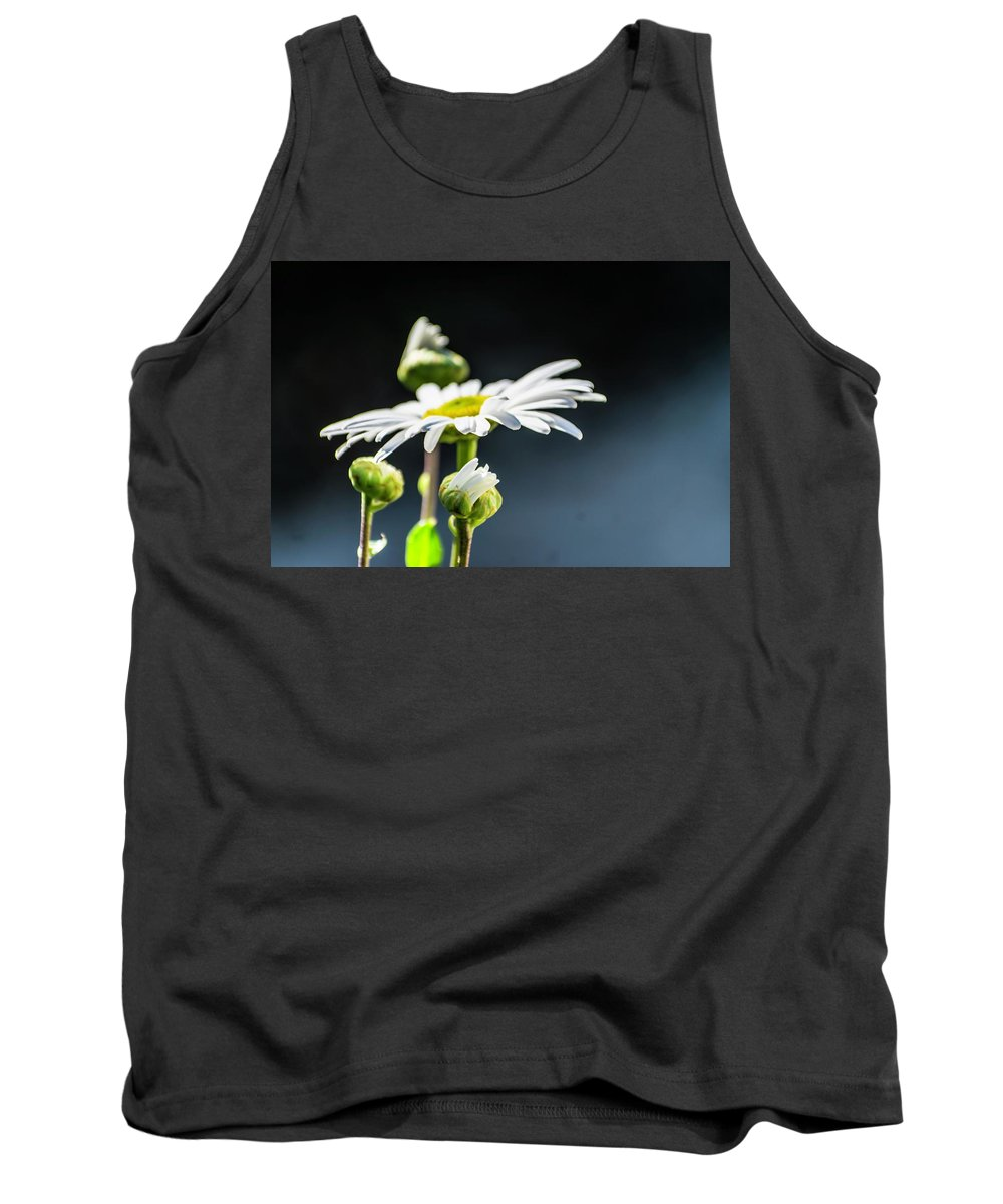 Flower Tank Top featuring the digital art Subtle Beauty by Mike Donahue
