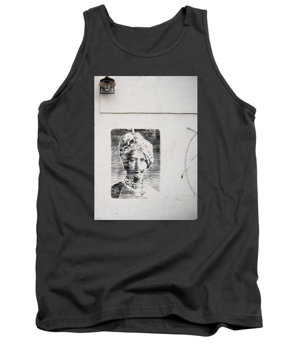 Street Art Tank Top featuring the photograph Sultan by Indrek Laanetu