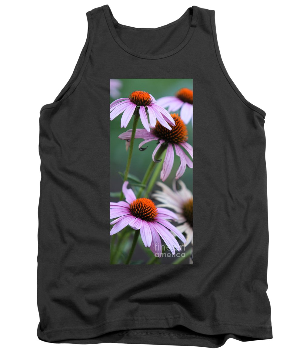 Echinacea Tank Top featuring the photograph Summer by Amanda Barcon