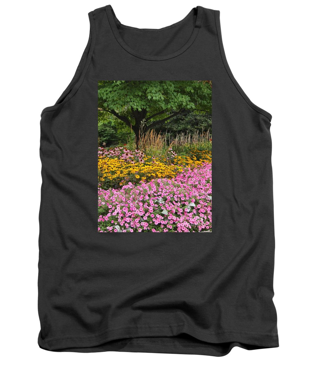 Flowers Tank Top featuring the photograph Summer Beauty by Jennifer Craft