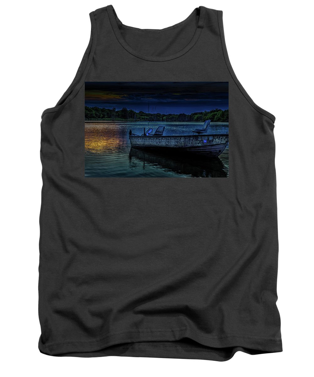 Lake Tank Top featuring the photograph Summer Nights by Scott McKay
