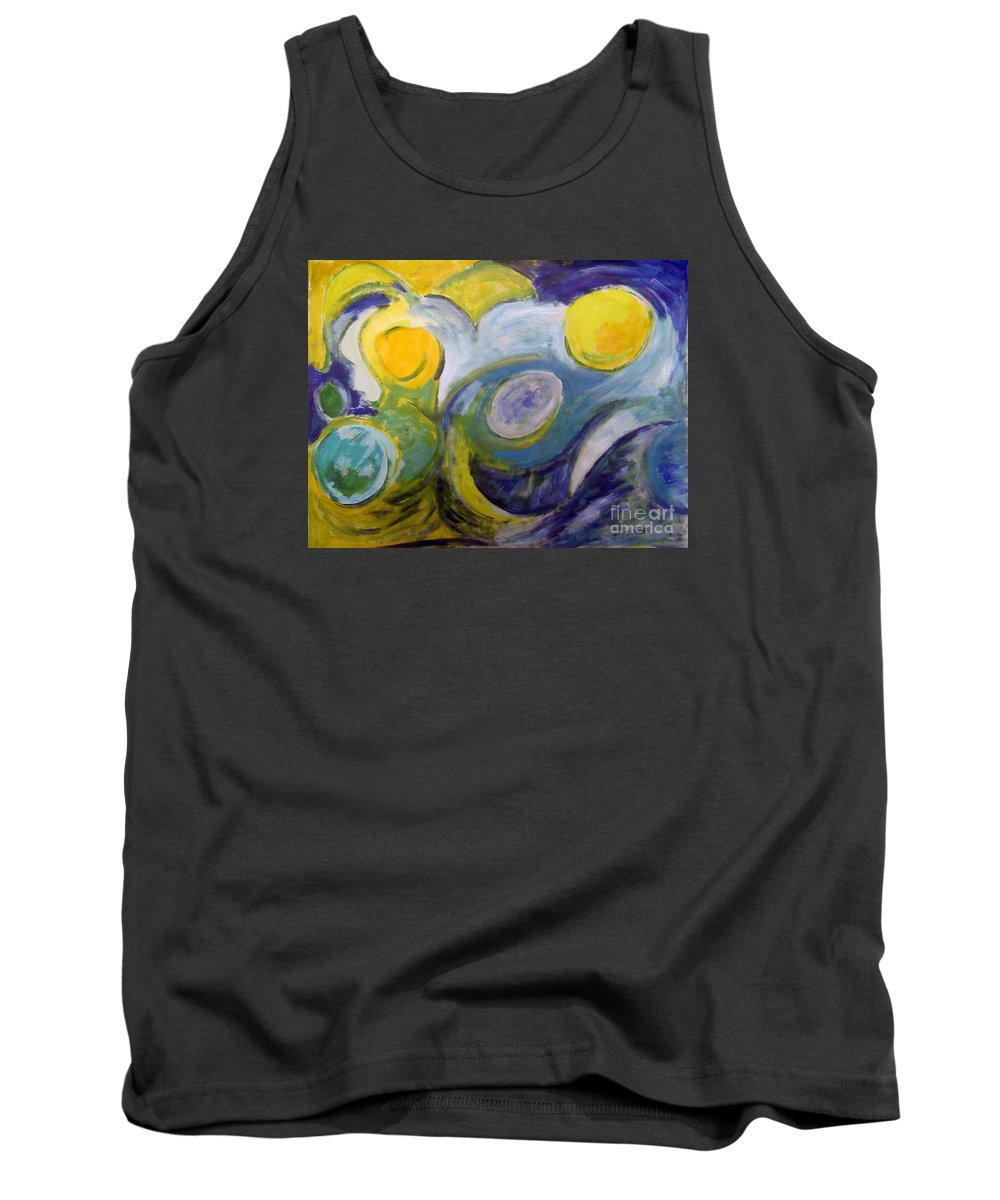 2005 Tank Top featuring the painting Summerstorm by Will Felix