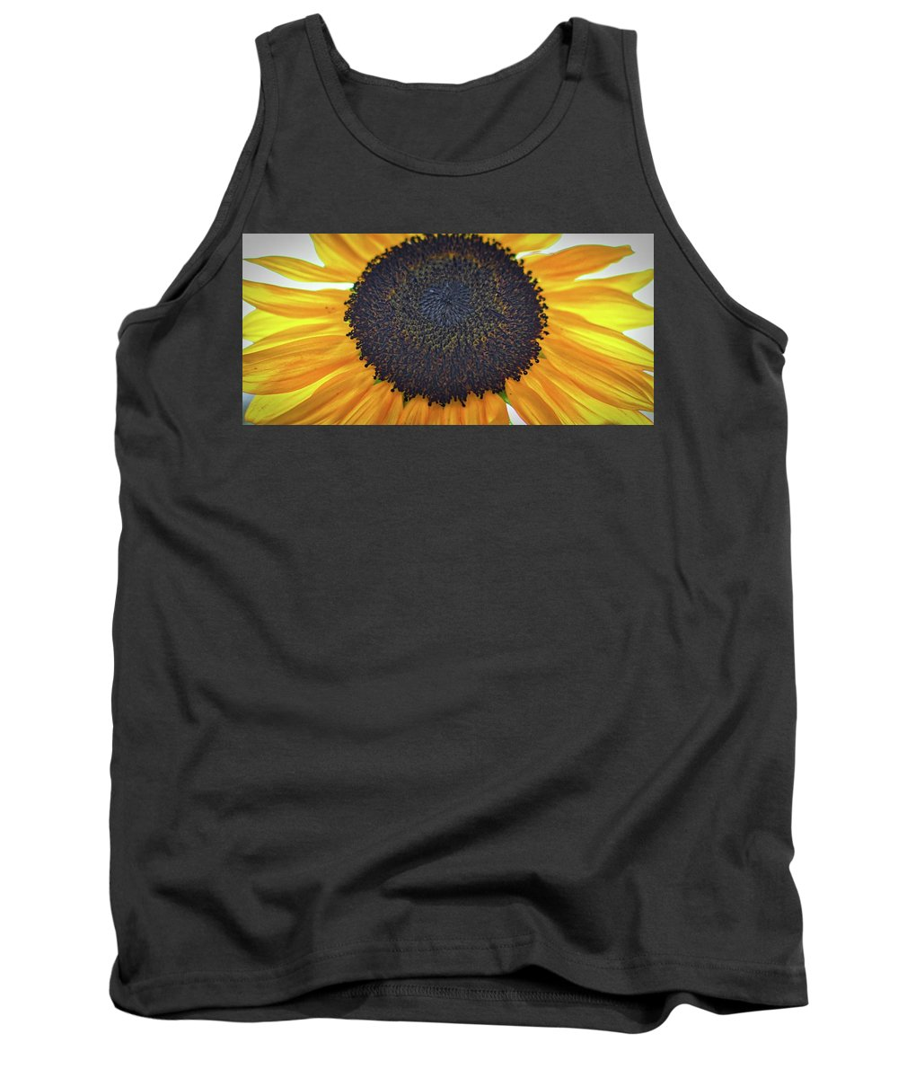 #sunflaower Tank Top featuring the photograph Sun Flower by Christie Wilson